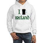 I Love Ireland (beer) Hooded Sweatshirt