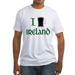 I Love Ireland (beer) Fitted T-Shirt