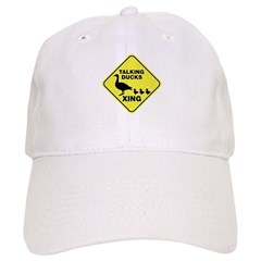 Talking Ducks Crossing Cap