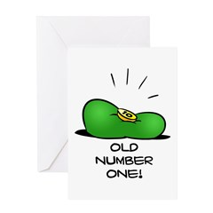 Old Number One! Greeting Card