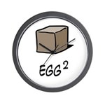 Square Egg Wall Clock