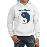 Zen Diver Hooded Sweatshirt
