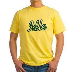 Idle Yellow T-Shirt