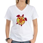 Turtle Within Turtle Women's V-Neck T-Shirt
