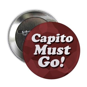 Shelly Moore Capito Must Go!  (Campaign button against the re-election of Rep. Capito for the West Virginia congressional campaign)