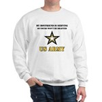 Army Boyfriend Serving Sweatshirt