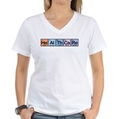 Elements of Healthcare Women's V-Neck T-Shirt