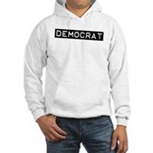 Democrat Label Hooded Sweatshirt