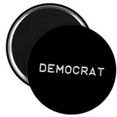 Democrat Label Magnet
