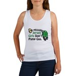 Jersey Girls Don't Pump Gas Women's Tank Top