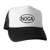 NOCA Northern Cardinal Alpha Code Trucker Hat