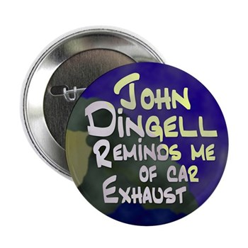 John Dingell Reminds Me of Car Exhaust Button for a cleaner less bought-off Michigan