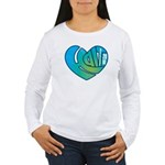 Haiti Heart Women's Long Sleeve T-Shirt