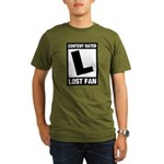 Content Rated L: Lost Fan Organic Men's T-Shirt (dark)