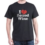 I Heart Boxed Wine Dark T-Shirt