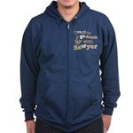I want to go dutch w/Sawyer Zip Hoodie (dark)