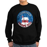 I Survived SNOMG 2010 Sweatshirt (dark)