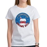 I Survived SNOMG 2010 Women's T-Shirt