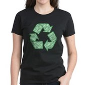 Path to Recycling Women's Dark T-Shirt