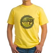 Linnaeus Quote Yellow T-Shirt