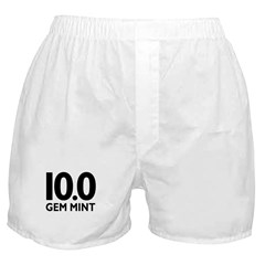10.0 Gem Mint Boxer Shorts