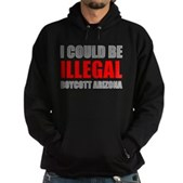 Could Be Illegal - Boycott AZ Hoodie (dark)