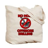No More Offshore Drilling Tote Bag