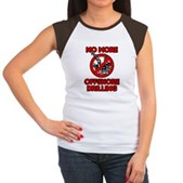 No More Offshore Drilling Women's Cap Sleeve T-Shi