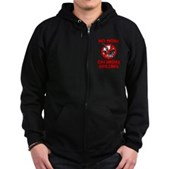 No More Offshore Drilling Zip Hoodie (dark)