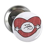 "Bad Attitude Heart 2.25"" Button (100 pack)"