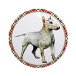 Bull Terrier Christmas Ornament