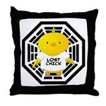 Lost Chick - Dharma Initiative Throw Pillow