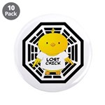 "Lost Chick - Dharma Initiative 3.5"" Button (1"