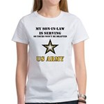 Army - Son-in-law Serving Women's T-Shirt