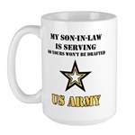 Army - Son-in-law Serving Large Mug