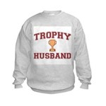 Trophy Husband Kids Sweatshirt