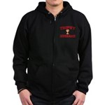 Trophy Husband Zip Hoodie (dark)