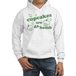 Cupcakes Are Da Bomb Hooded Sweatshirt