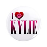 "I Heart Kylie 3.5"" Button (100 pack)"