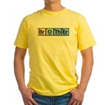 Brother Made of Elements Yellow T-Shirt