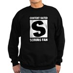 Content Rated S: Scrubs Fan Sweatshirt (dark)