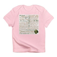 Shakespeare Insults T-shirts & Gifts Infant T-Shirt