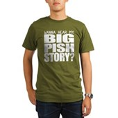 BIG PISH Story Organic Men's T-Shirt (dark)