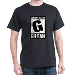 Content Rated G: General Hospital Fan Dark T-Shirt