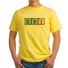 CSI Made of Elements Yellow T-Shirt