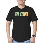 CSI Made of Elements Men's Fitted T-Shirt (dark)