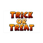 Trick or Treat 38.5 x 24.5 Wall Peel