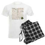 Shakespeare Insults T-shirts & Gifts Men's Light Pajamas