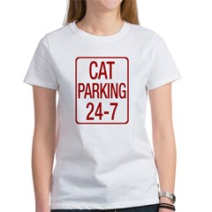 Cat Parking Women's T-Shirt