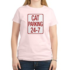Cat Parking Women's Light T-Shirt